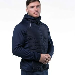 Multi-Quilted Jacket – Navy