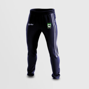 Skinny Tracksuit Bottoms – Sean Mac Cumhaills (Navy/White)