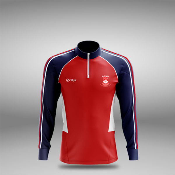 St Brigid's GAA Adult Half Zip