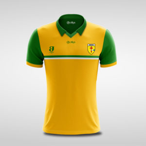 Adult Gold & Green Retro Jersey