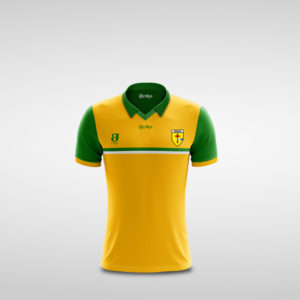 Kids Gold Donegal Retro Jersey