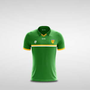 Kids green Donegal Retro Jersey