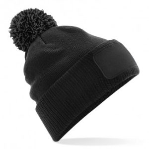 Patch Bobble Hat