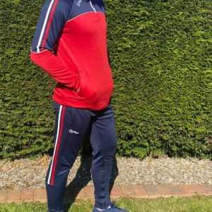 Tracksuit Bottoms – Navy/ Red/ White
