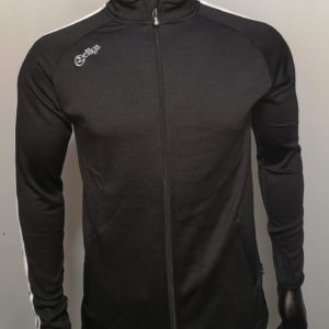 Full Zip – Black Melange