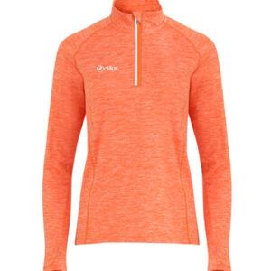 Orange Melange –  Lightweight Half Zip