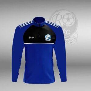 Raphoe Town F.C – Lightweight Half Zip Blue/Black