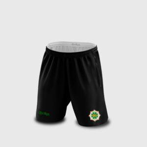 Erris Soccer Shorts – Black