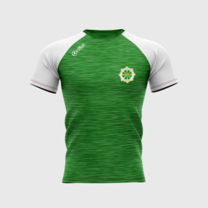 St Catherines F.C Round Neck T- Shirt – Green