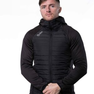 Multi-Quilted Jacket – Black