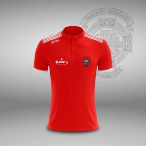 St Michael's GAA – Polo T- Shirt Red