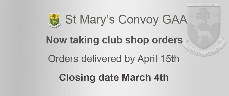 St Mary's Convoy GAA
