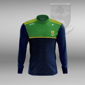 St Mary's Convoy GAA – Crew Neck Jumper (Green/Gold)