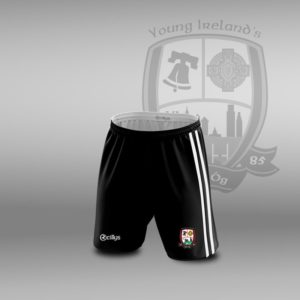 Young Irelands GFC – Leisure Shorts White