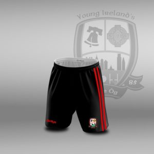 Young Irelands GFC – Leisure Shorts Red