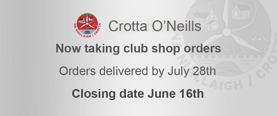 Crotta O'Neill's GAA