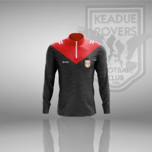 Keadue Rovers F.C. – Coaches Half Zip