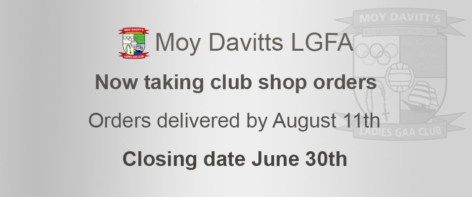 Moy Davitts LGFA