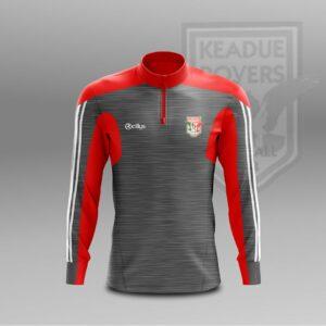 Keadue Rovers F.C. – Grey Half Zip