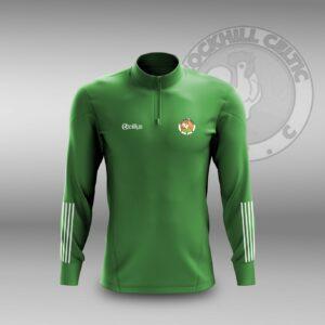 Cockhill Celtic F.C. – Lightweight Half Zip Green